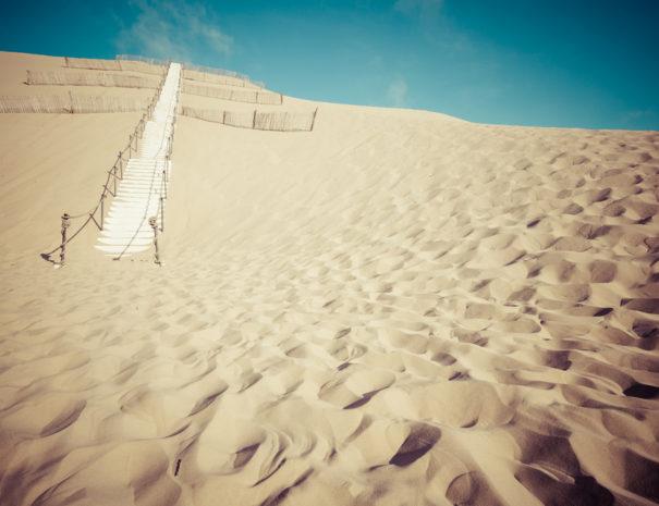 grimper la dune